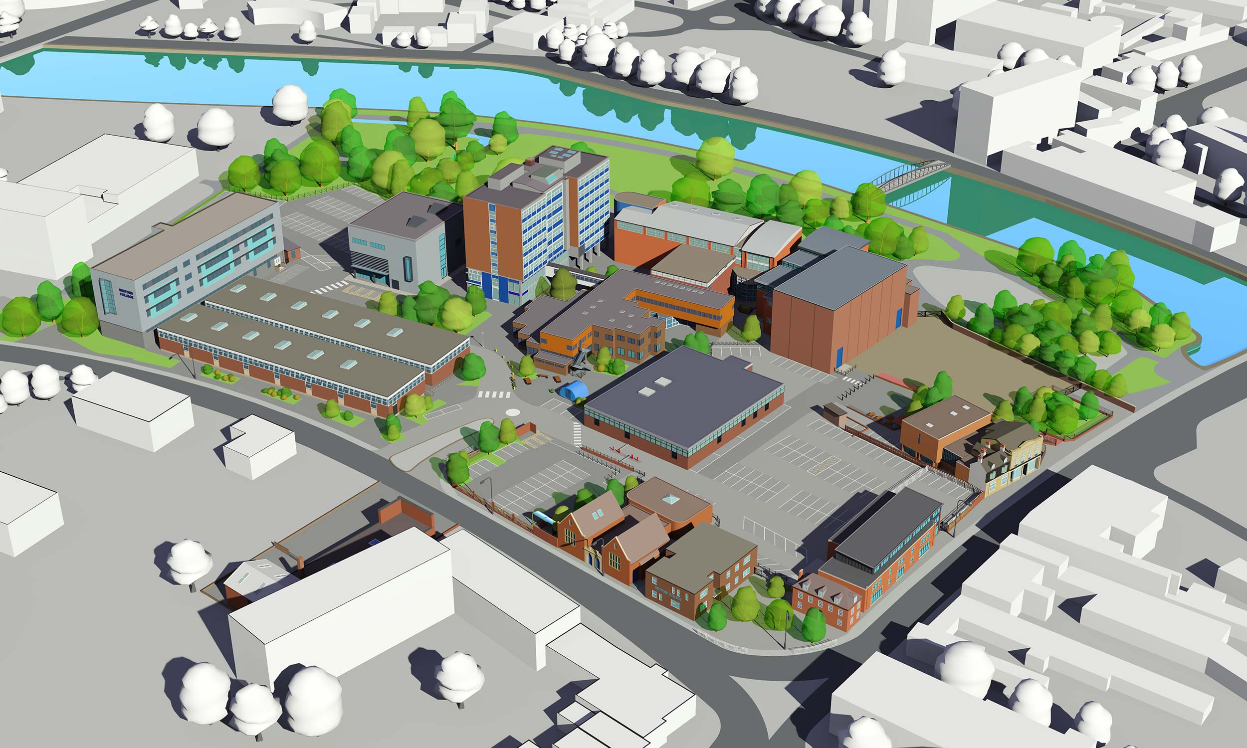 Bedford College Map