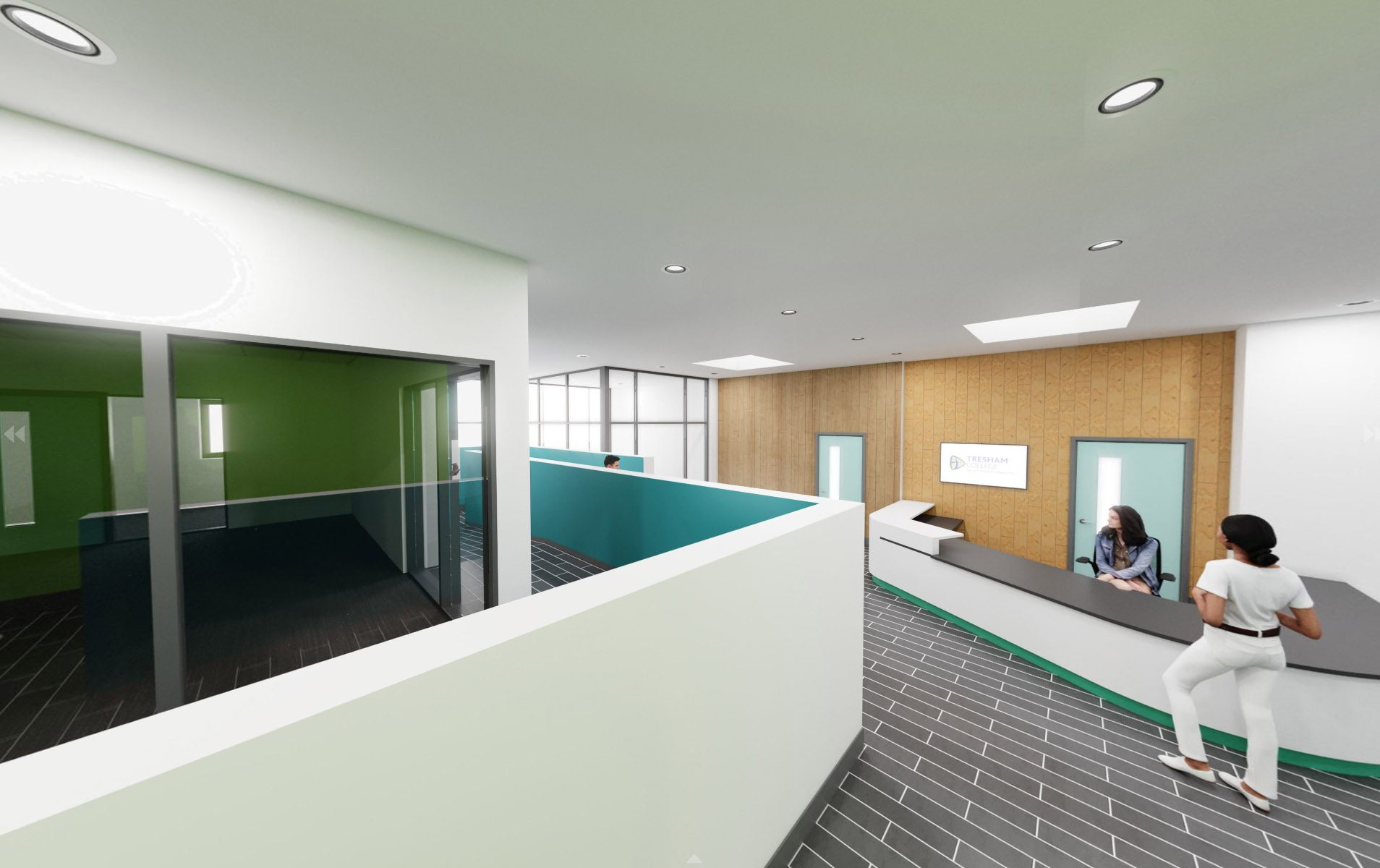 Wellingborough Reception area 2